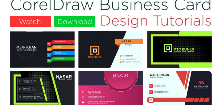 Visiting Card Design Tutorials