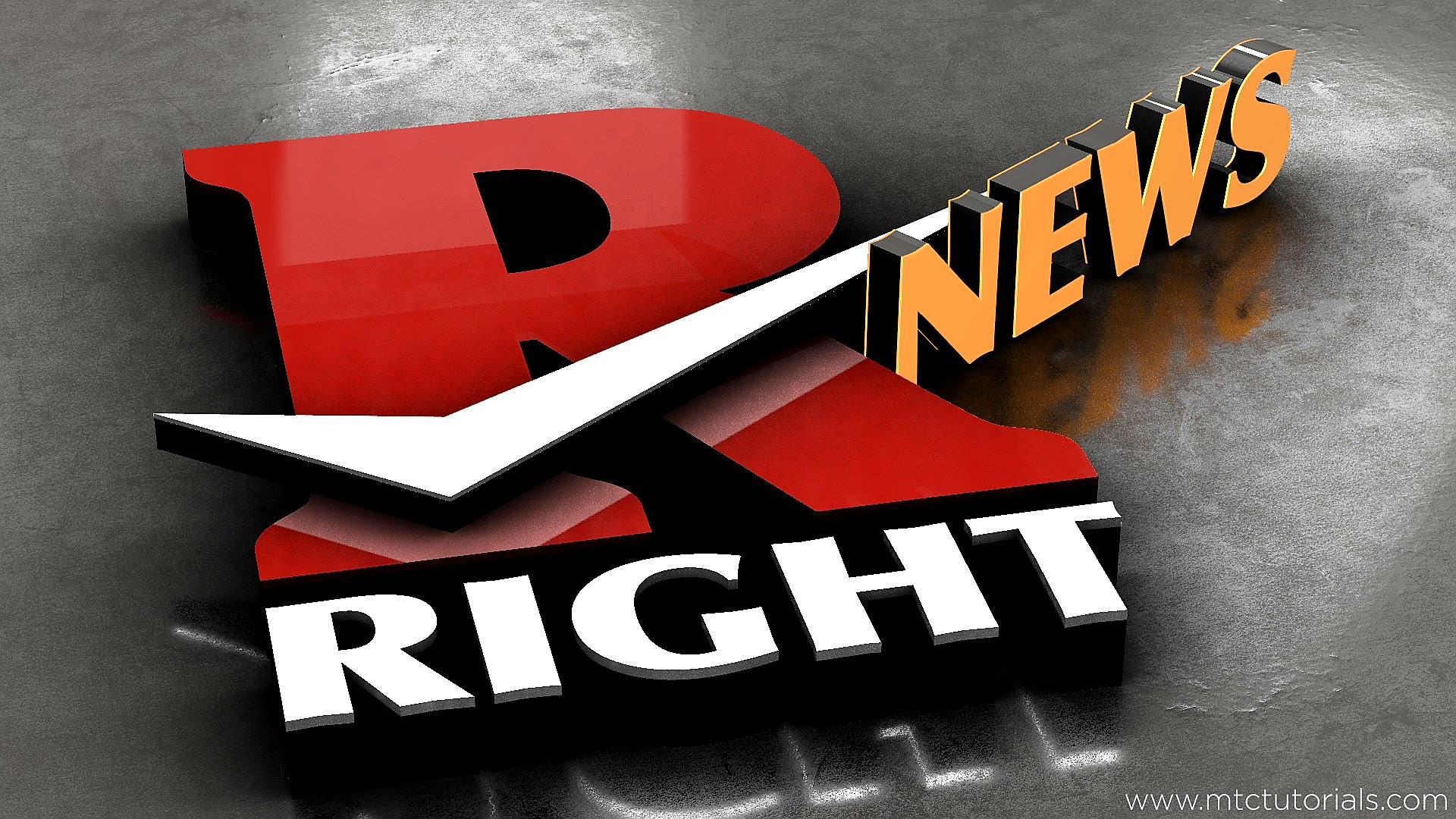 R logo 3D