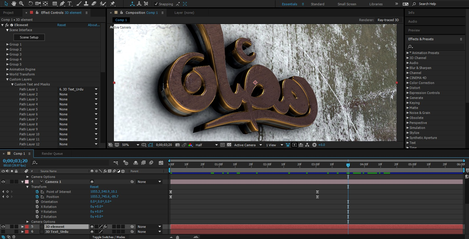 3d proanimator for after effects free download