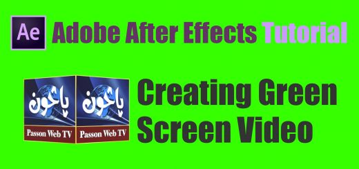 creating Green screen videos in after effects
