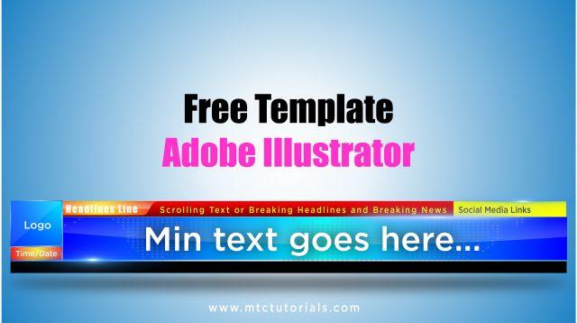 Download royality free Adobe Illustrator templates