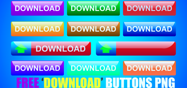 Download free Download buttons png