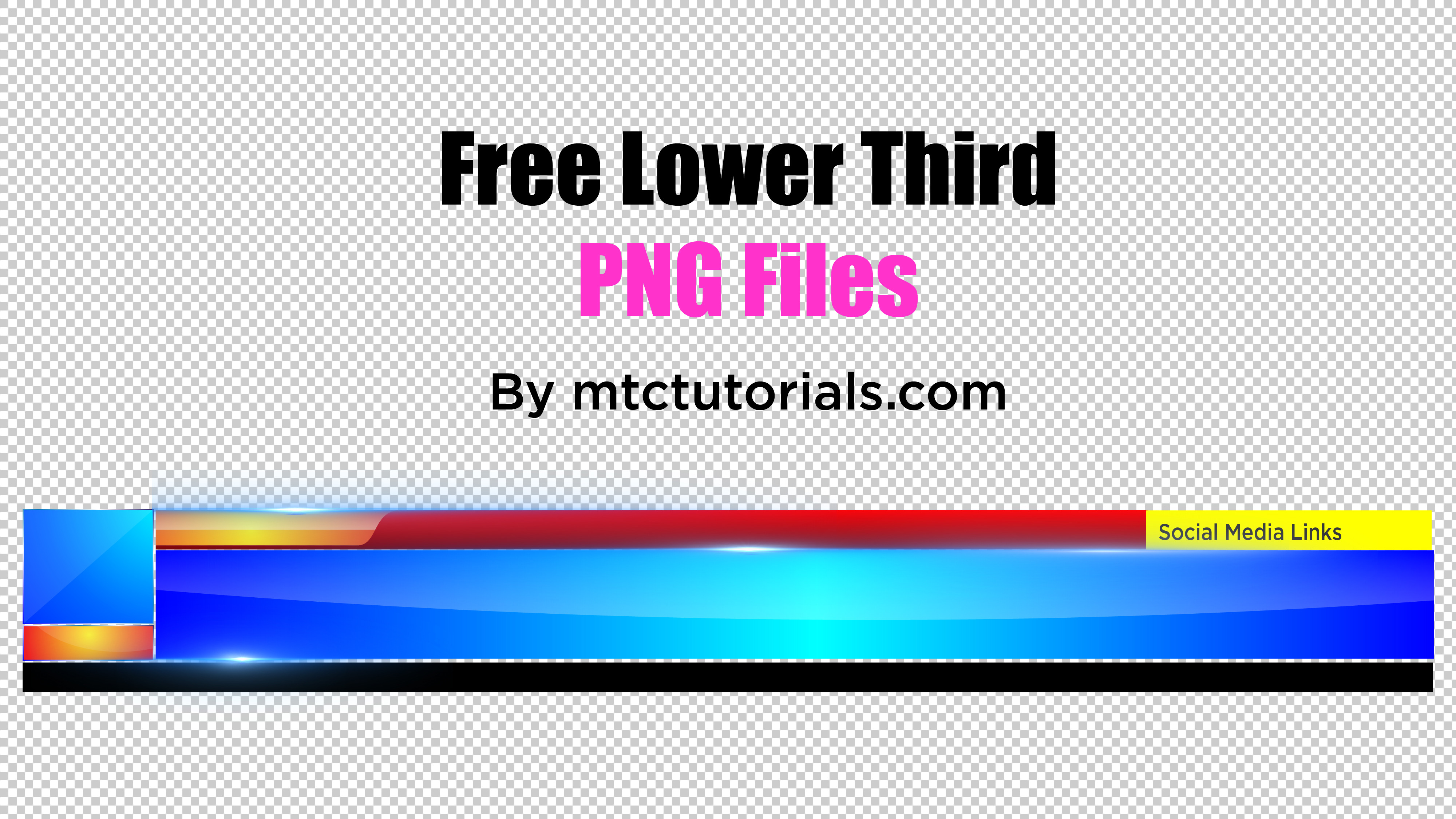 Lower-third-png-free-downlioad-mtc-tutorials  D Logo Templates Letter C on cut out, printable box,