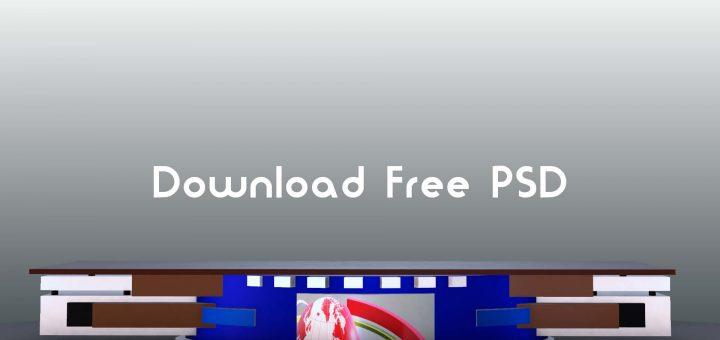 News sdudio desk psd free download