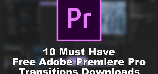 10 Must Have Free Adobe Premiere Pro Transitions Downloads