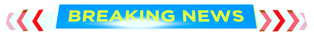 breaking news blue and red free png banner download
