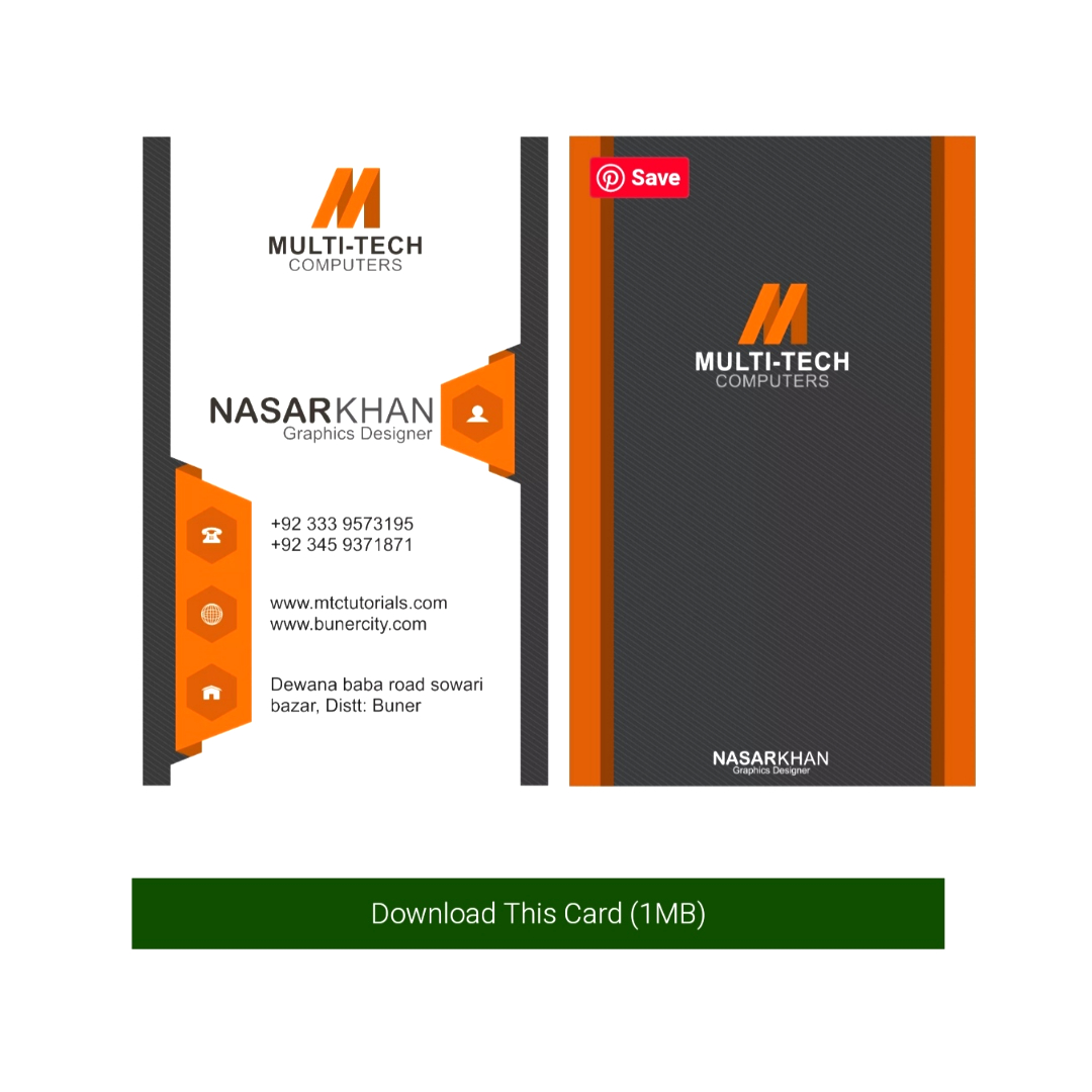 verticle style beautiful business cards designs free downloads