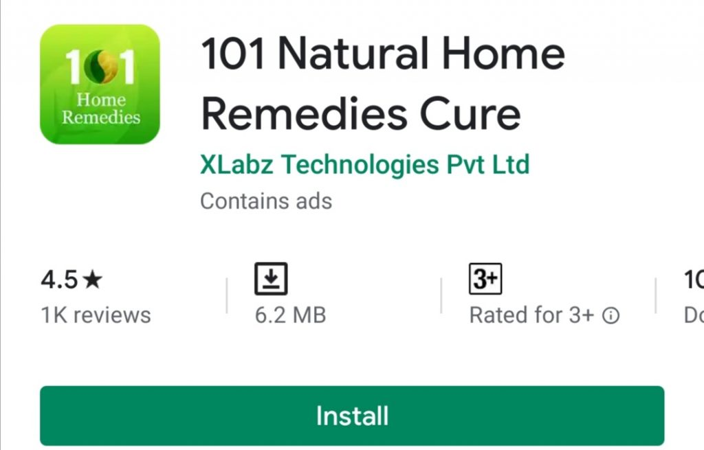 101 Natural Home Remedies Cure