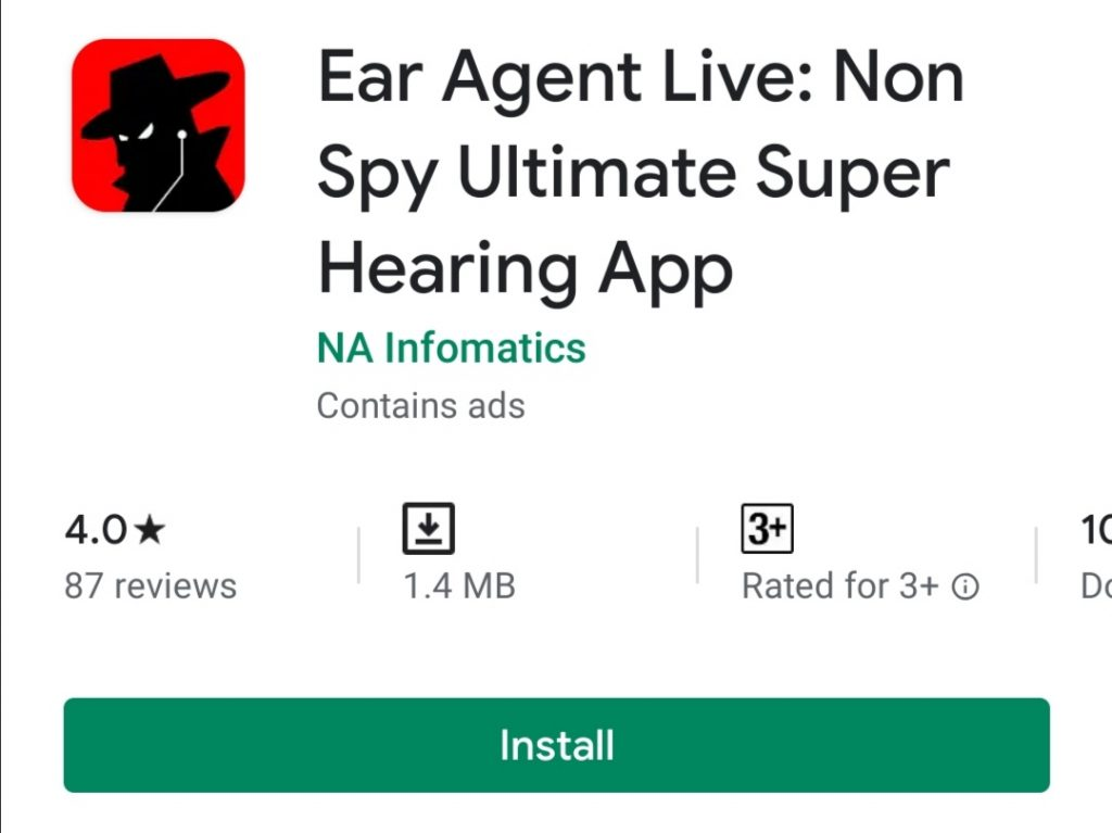 Ear Spy: Super Hearing free medical app