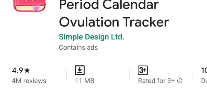 Period Calendar, Cycle Tracker - Ovulation Tracker
