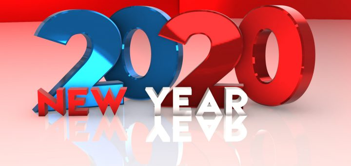Happy New Year 2020 Stock images, photos and vectors free download