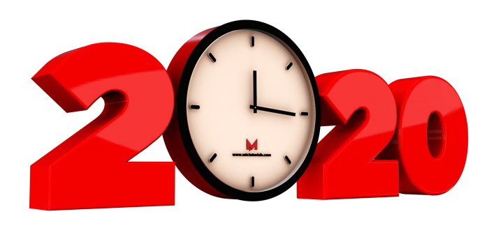 Happy new year 2020 png transparent images free download
