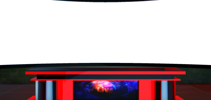 High Quality TV Studio desk free png images with 4K quality Green screen videos