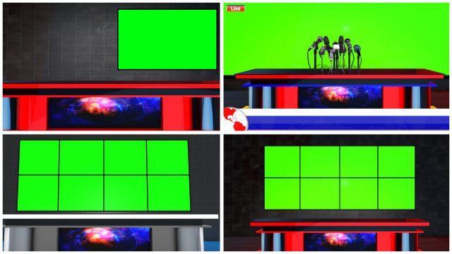 download royalty free news studio deck virtual sets mtc tutorials