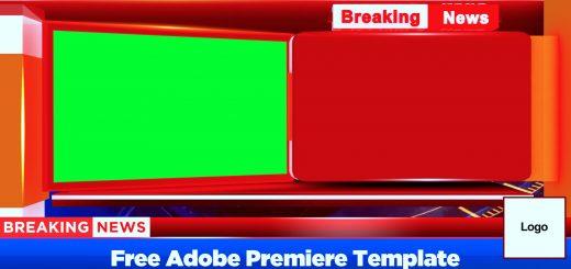 Breaking News Bumper free adobe premiere template by mtc tutorials