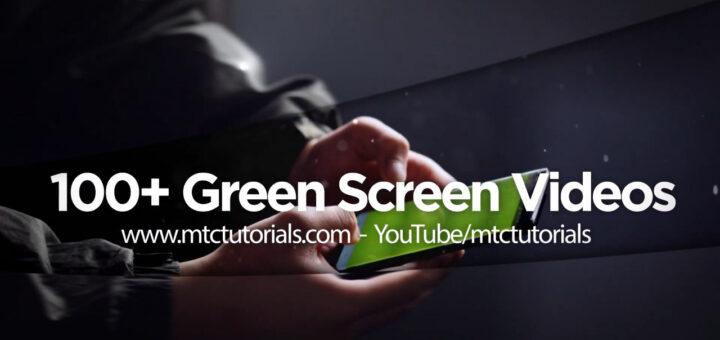 Free green screen videos