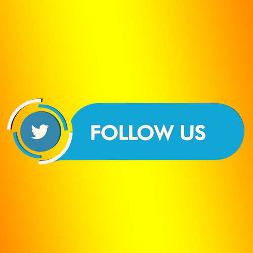Twitter follow us strip lower third