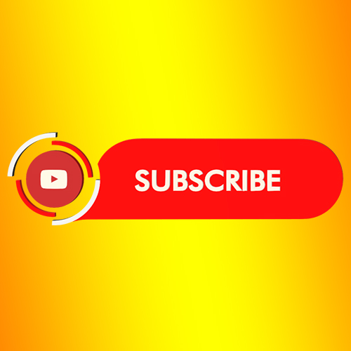 Youtube subscribe button and strip