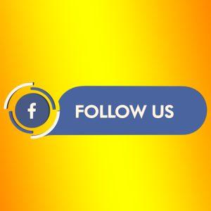 facebook follow us strip png