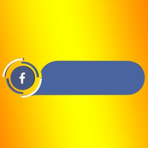 facebook lower third blank strip png