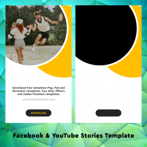 Download printable stories design templates. Free Facebook story posters, flyers, mockups and invitations. Make your your own business instagram, facebook and YouTube story templates easily.