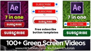 Download free YouTube subscribe buttons and bell