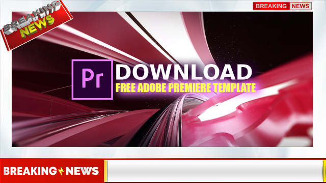 Download Adobe Premier Template for Youtube News