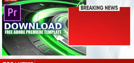 Top News Adobe Premiere template by mtc tutorials 2