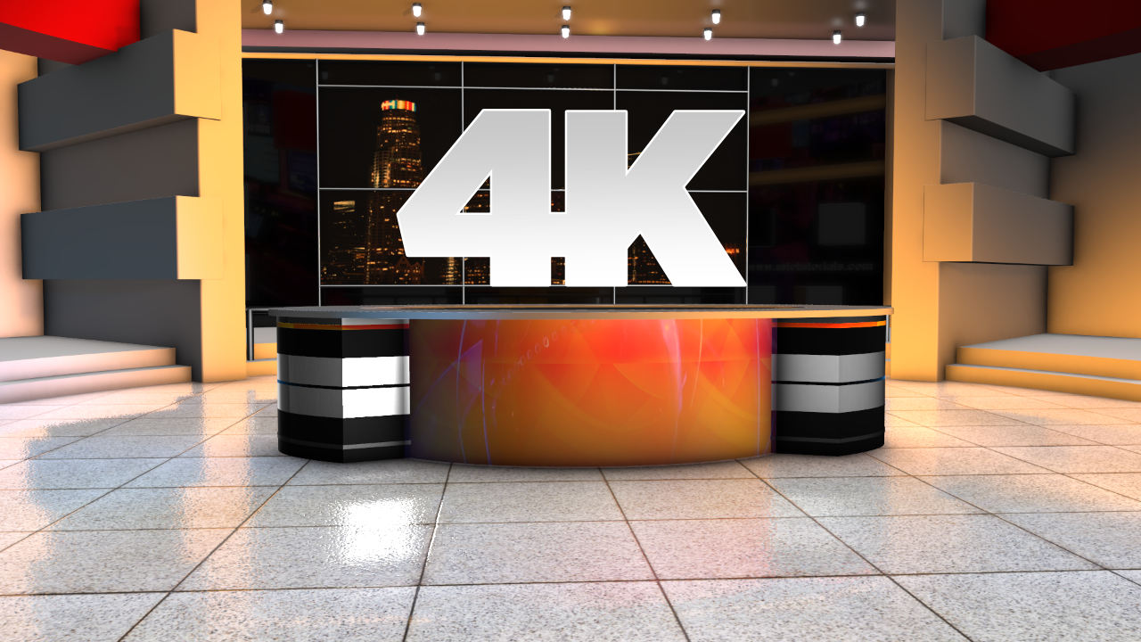 Download 4K News rooms