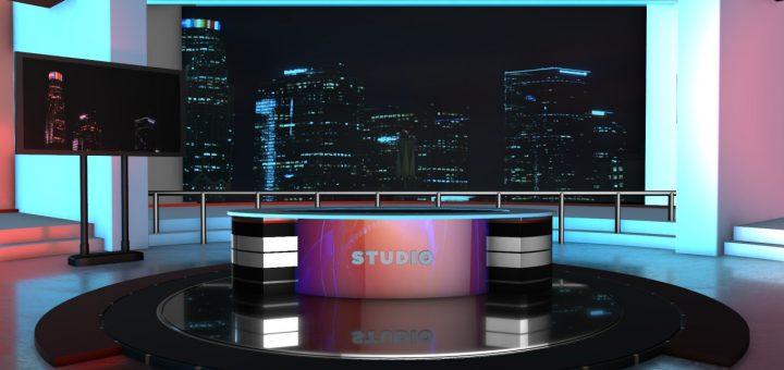 Adobe premiere news studio templates