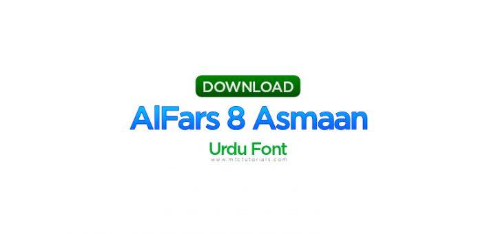 AlFars 8 Asmaan