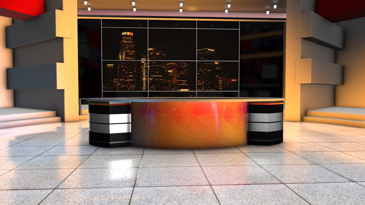 News studio background free download