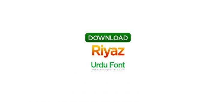 riyaz Unicode Font
